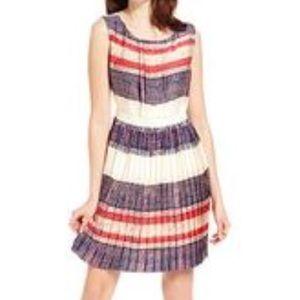 ⭐️Rachel Roy Pleated Colorful Summer Dress